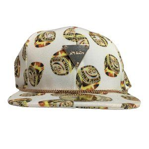 Joyrich NWT Champion Ring Gold Chain Hat SnapBack